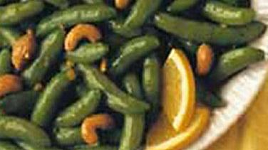 Cashew Orange Sugar Snap Peas