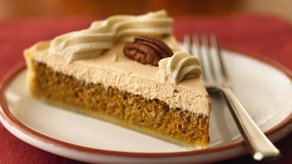 Pumpkin Butterscotch Cream Tart