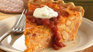 Chicken Enchilada Quiche