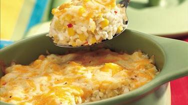 Corn and Green Chile Rice