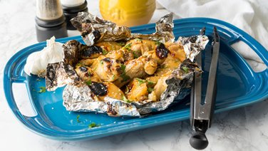 Honey-Garlic Chicken Foil Pack