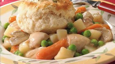 Slow-Cooked Chicken and Vegetable Pot Pies