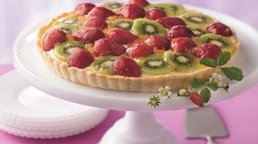 Strawberry-Kiwi Tart