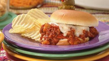 Slow-Cooker Pizza Joes