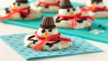 Melted Snowmen Cookies
