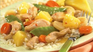 Chicken and Vegetables with Pineapple