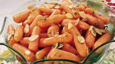 Almond Baby Carrots