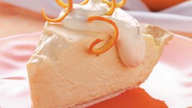 Orange Cheesecake Pie