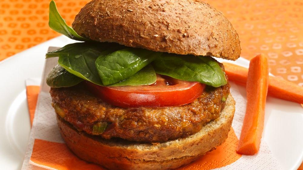 Spicy Chili Bean Burgers