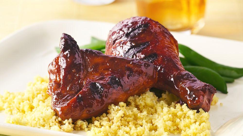 Grilled Asian Barbecued Chicken