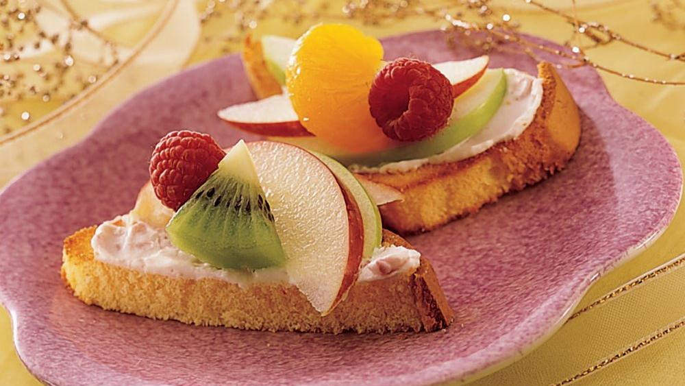 Fruit Bruschetta