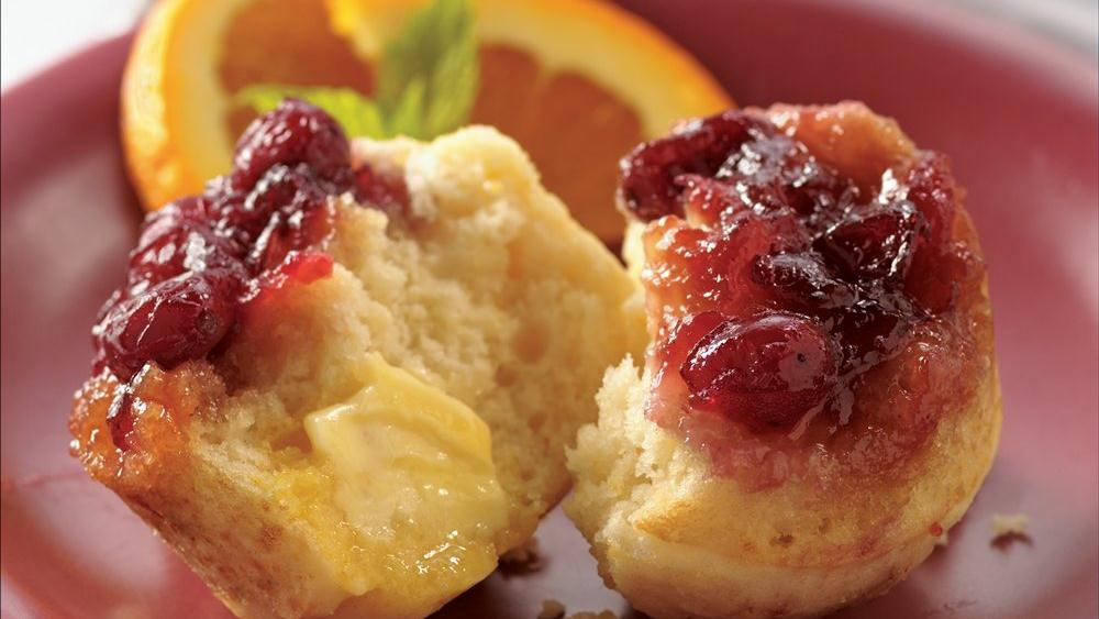 Cranberry Upside-Down Muffins