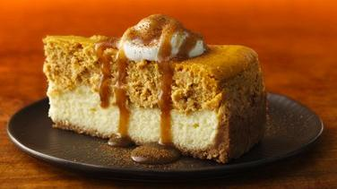 Pumpkin-Chai Cheesecake