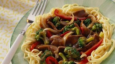Spicy Broccoli-Beef Stir-Fry