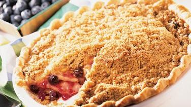 Apple-Blueberry Pie