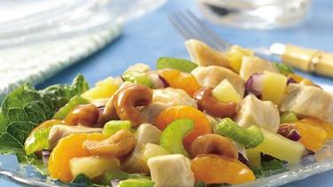 Fruit and Cashew Chicken Salad
