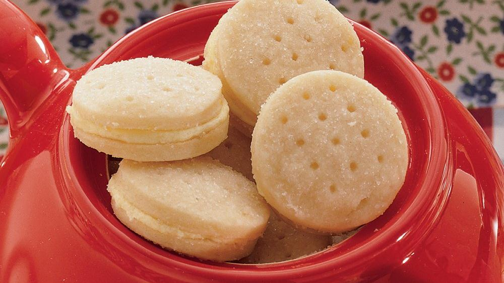 Tea-Time Lemon Sandwich Cookies