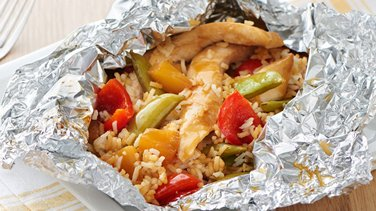 Teriyaki Chicken Foil Pack