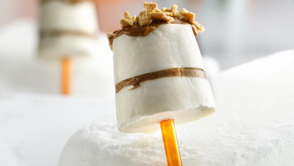 Dulce de Leche Cheesecake Pops