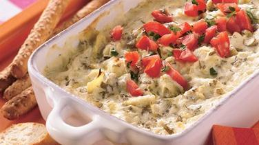 Artichoke Dip with Fresh Herbs