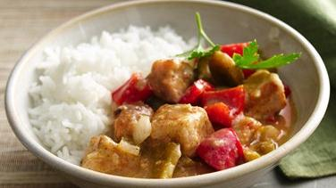 Caribbean Pork Stew with Peppers