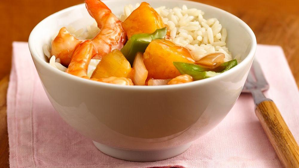Sweet and Sour Shrimp