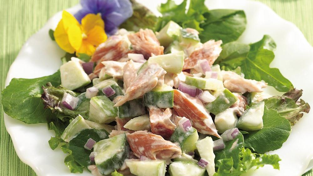 Salmon-Apple Salad
