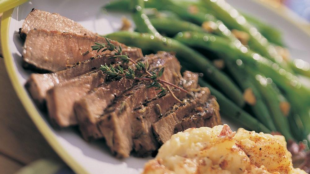 Herbed Round Steak