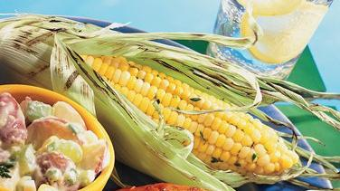 Grilled Herbed Corn