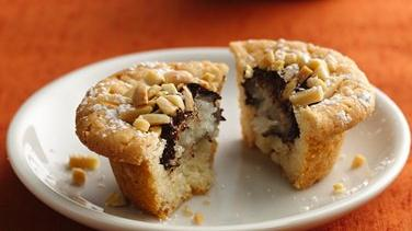 Choco-Coconut-Almond Cookie Cups