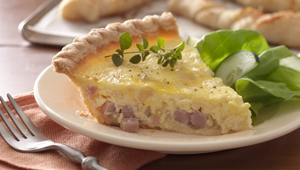 Ham and Sweet Onion Quiche