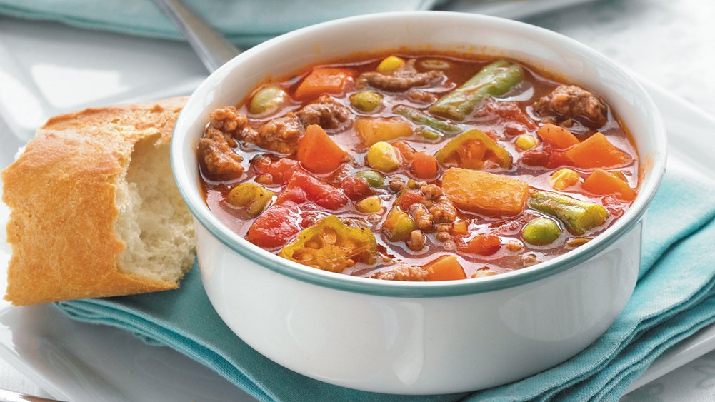 Beefy Vegetable Soup